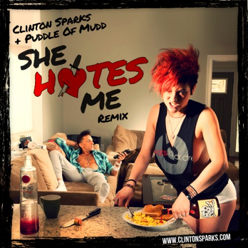 Clinton Sparks Vs  Puddle of Mudd – She Hates Me Remix | Embassy
